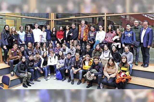 Schülerbesuch aus Istanbul
