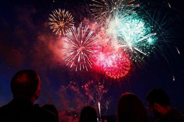 Das Jubiläum der Landesgartenschau in Weil am Rhein wird mit einem Sternenzauber gefeiert