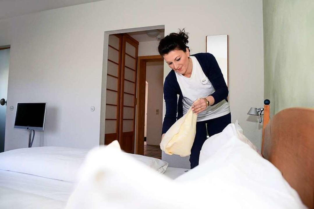 Ein guter Zimmerservice ist entscheidend für den Erfolg eines Hotelbetriebs.     Foto: Thomas Kunz
