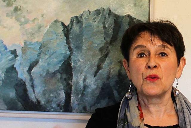 Das Kunsthaus in St. Märgen zeigt Werke der Malerin Verena Fuchs
