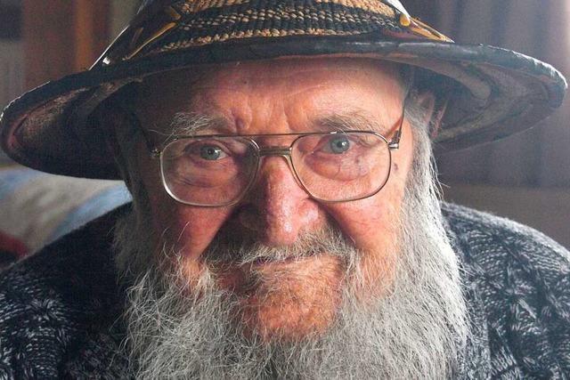 Alfred Saillant kämpft auch mit 95 Jahren noch gegen die Armut