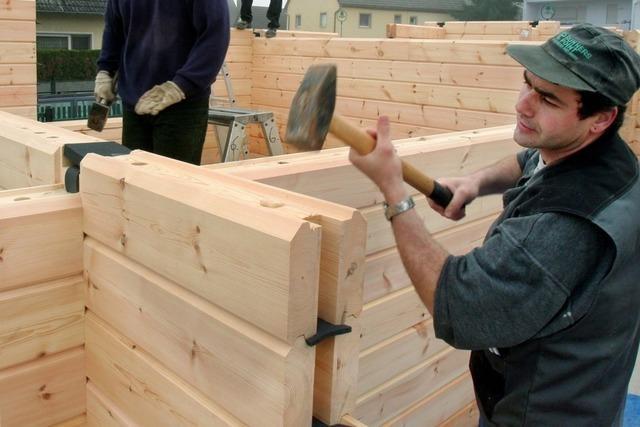 Entstehen in Baden-Württemberg bald mehr Häuser aus Holz?