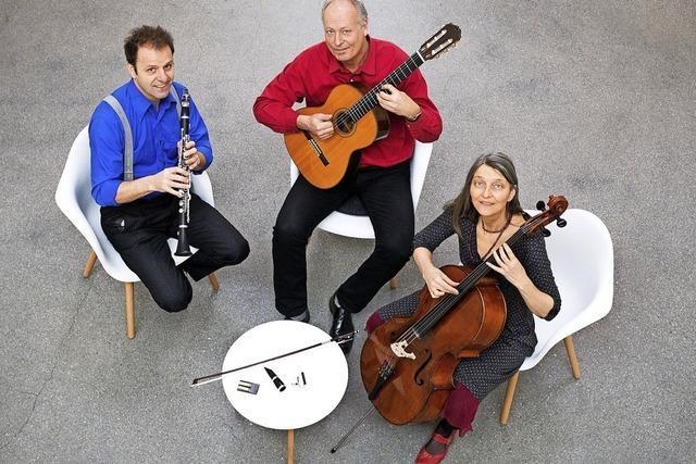 Trio Briósh zu Gast in Müllheim