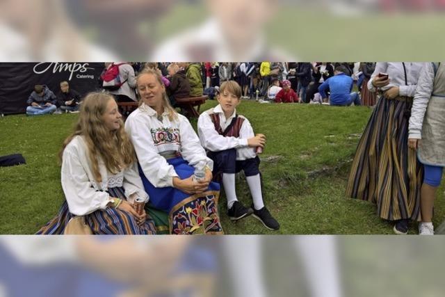 Aus dem Markgräflerland zum weltgrößten Sängerfest