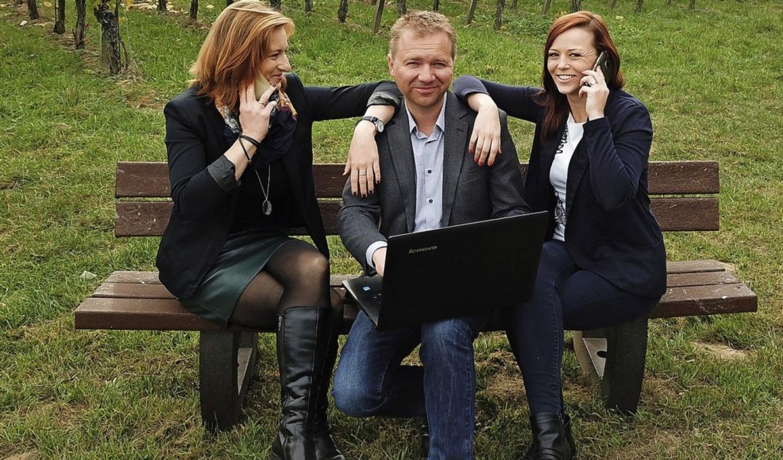 Susanne Kirsch, Christian Sprießler und Christiane Reißmann   | Foto: privat