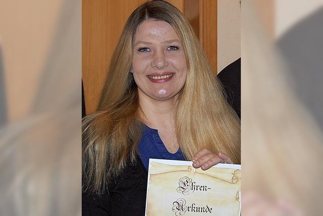 Daniela Leuenberger ist neues Ehrenmitglied