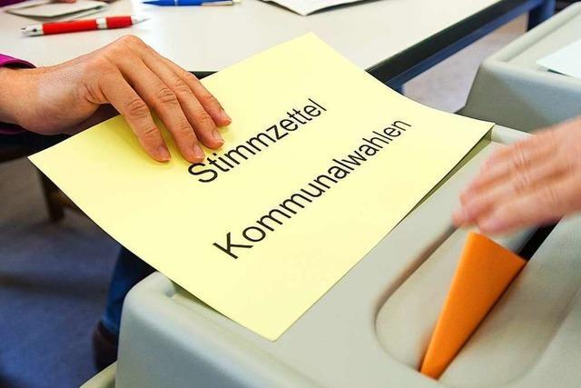 Nur vier Bewerber treten bei der Umkircher Ratswahl für die SPD an
