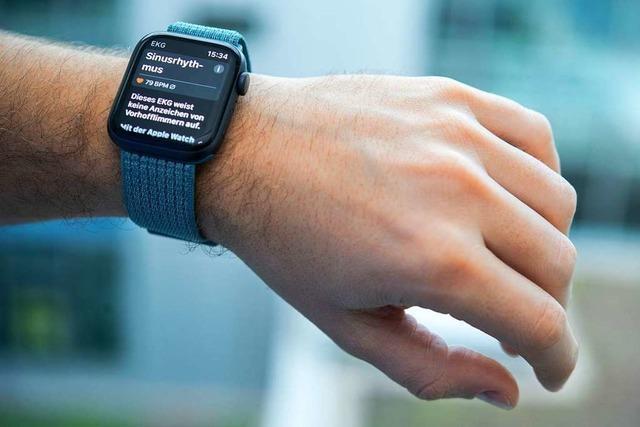 Apple Watch 4 kann Herzrhythmusstörung erkennen