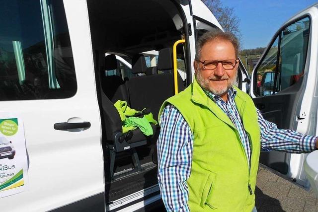Jetzt fährt der Bürgerbus in Efringen-Kirchen an drei Tagen