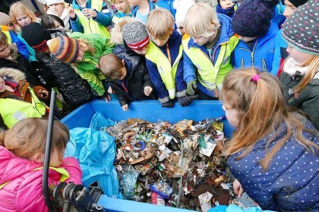 Wittnauer Grundschüler lernen spielerisch mehr über Umweltschutz und Nachhaltigkeit