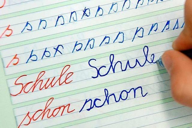 Lehrer bemängeln die handschriftlichen Fähigkeiten ihrer Schüler