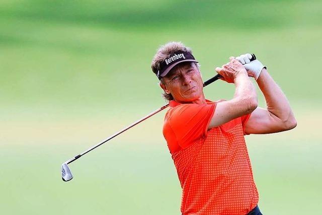 Golf-Oldie Langer glaubt beim Masters an 15. Major-Sieg von Woods