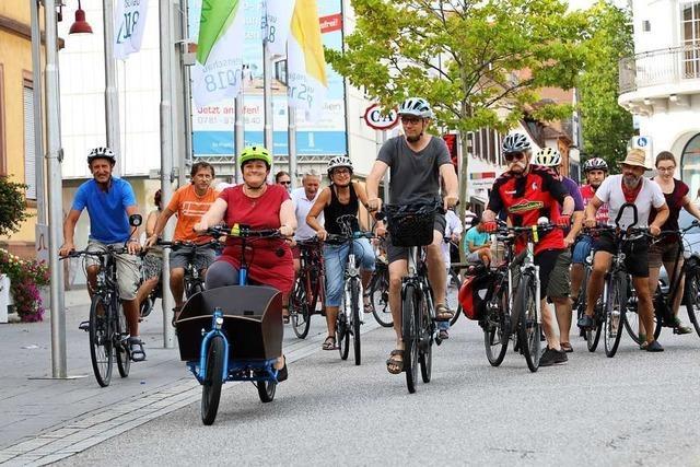 Beim Fahrradklima ist Lahr nur Durchschnitt