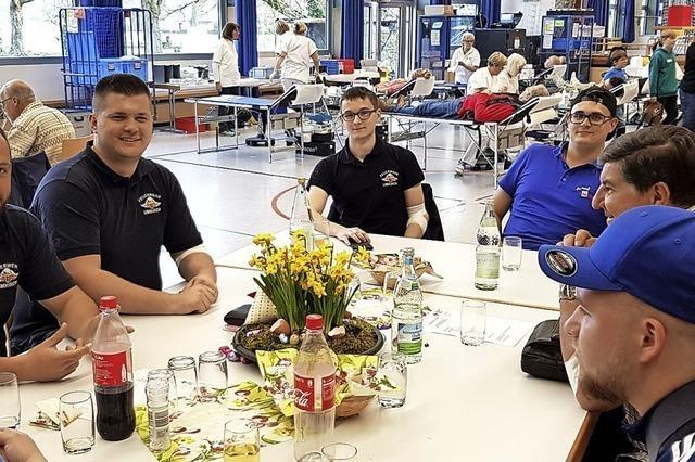 Mehr als 100 Blutspender bei Aktion in Umkirch