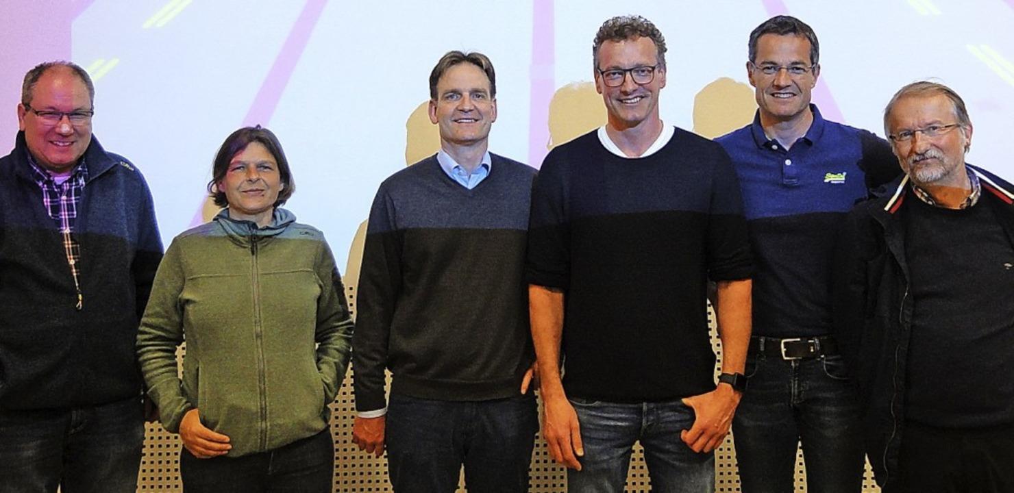 Der Vorstand (von links): Michael Miel... Richter, Dirk Hömig und Rolf Kessler     Foto: Sarah Schädler