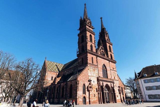 Das Basler Münster wird tausend