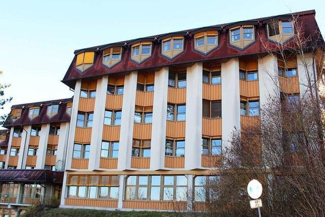 Flüchtlinge ziehen ins Kreispflegeheim Haus Dinkelberg in Schopfheim ein