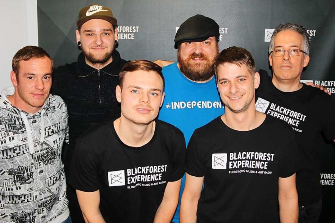 Das Team hinter BFX: Steven Röck, Luka...annwarth, Lucas Glasmacher (von links)  | Foto: Julia Stulberg