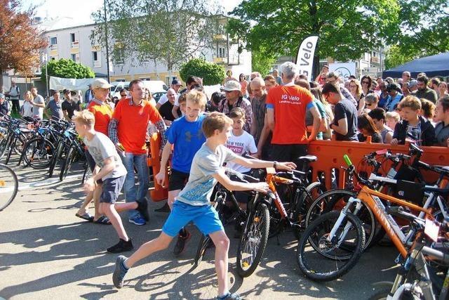 Am Samstag findet die Fahrradbörse der IG Velo in Lörrach statt