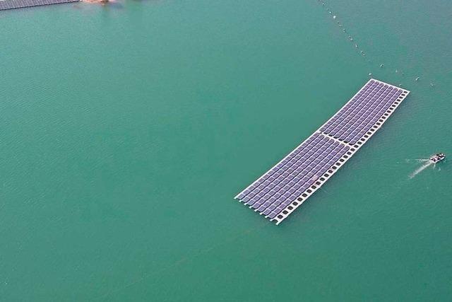 In der Ortenau entsteht Deutschlands größte schwimmende Fotovoltaik-Anlage