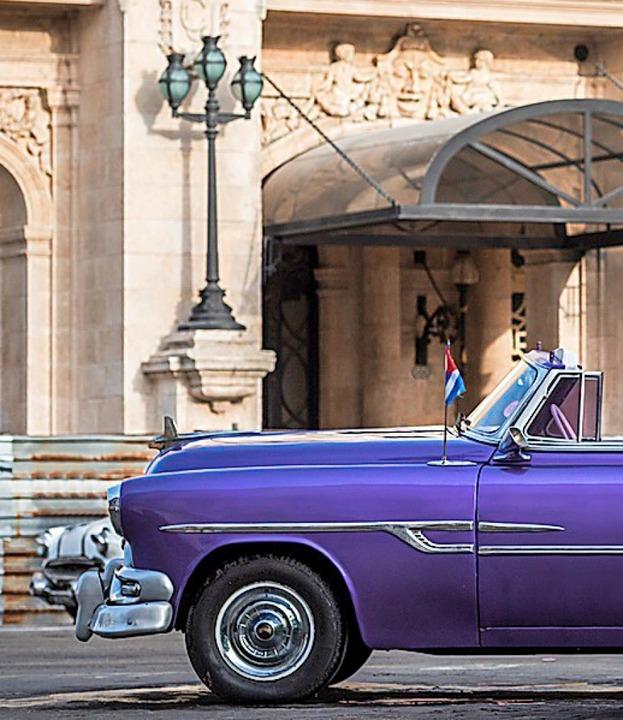 Im Oldtimer durch Havanna