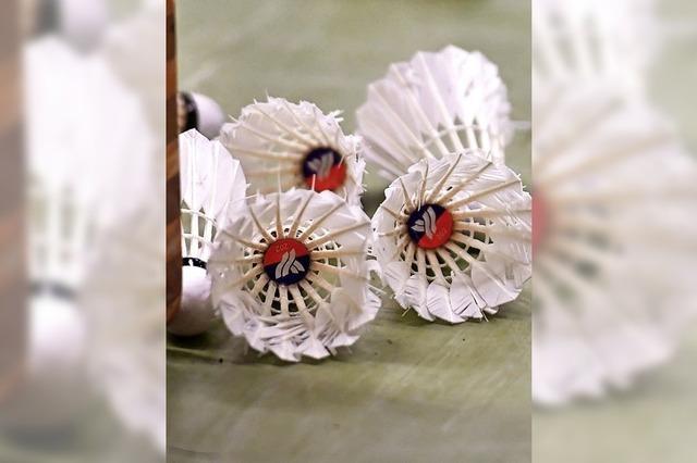 Saisonfinale im Badminton