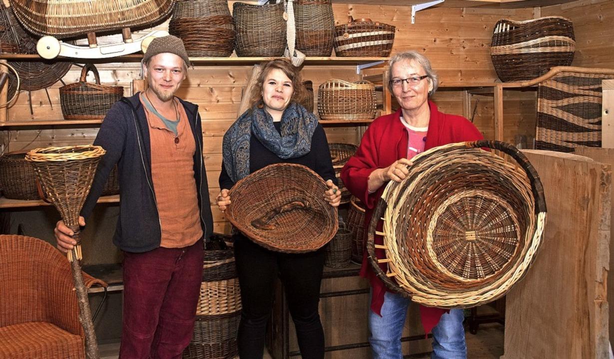 Freuen sich auf den Markt an der Alten..., die den Flechtermarkt initiiert hat   | Foto: Volker Münch