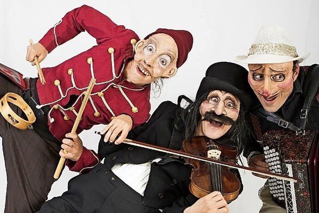 Walking Acts, Marionetten und Masken in Gengenbach und Kehl