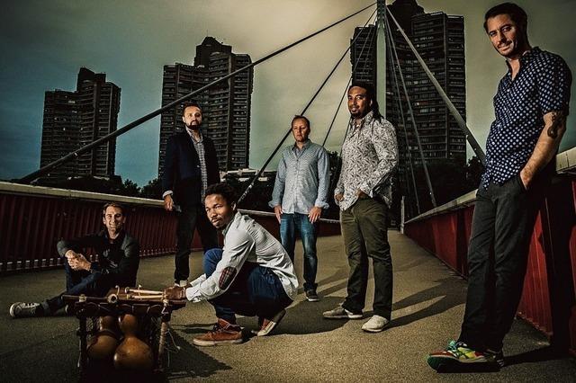 Balafonist Brahima und seine Band Ballaballa bringen Afrobeat ins KiK