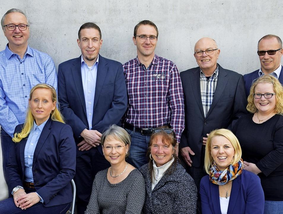 Die Kandidaten (h.  v. l.): Michael Fu...ula Ströbele, Elisabeth Köllenberger.   | Foto: Privat