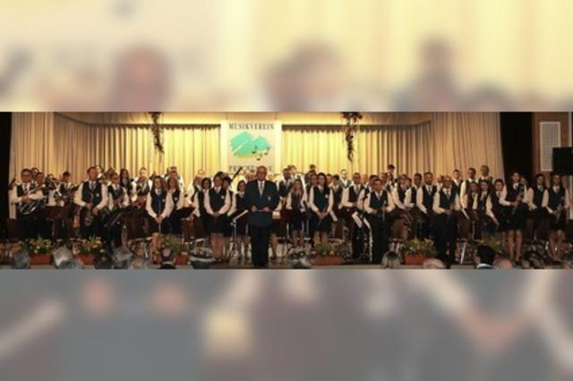 Frühjahrskonzert des Musikvereins Prechtal