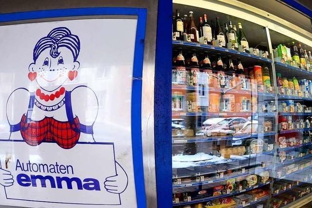 Die Automaten-Emma in Freiburg ist Geschichte