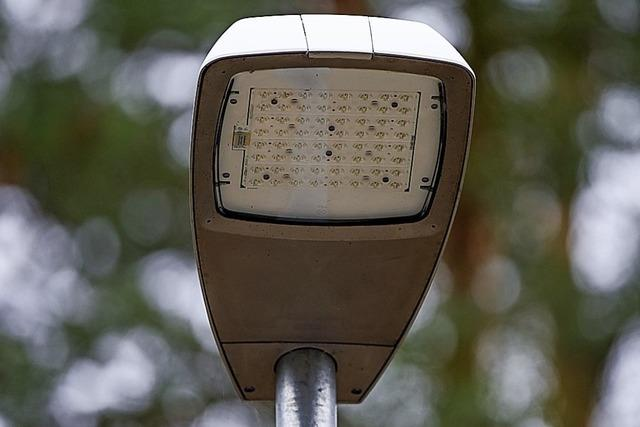 Umrüstung der Straßenleuchten auf LED rechnet sich für St. Peter nicht