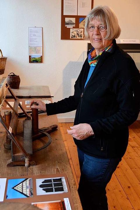 Ursula Schmidtobreick hat die Ausstell... anderen Vereinsmitgliedern gestaltet.    Foto: Sophia Hesser