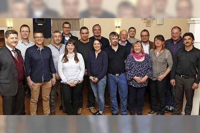 Fünf Ratsmitglieder treten erneut an
