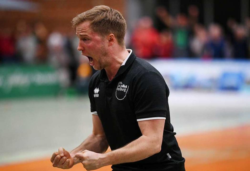 FT-Trainer Jakob Schönhagen  | Foto: Patrick Seeger