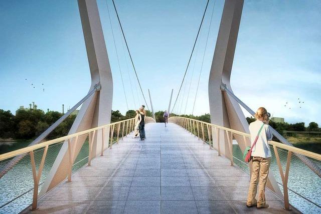 Gemeinderat Rheinfelden stimmt Bau des Rheinstegs zu