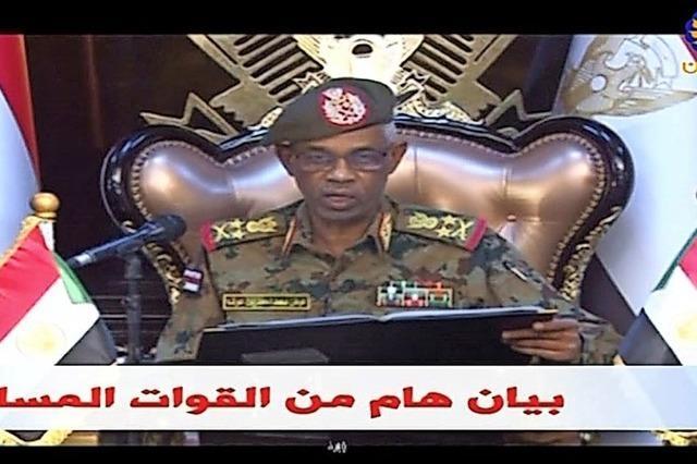 Das Militär im Sudan putscht, der Protest geht weiter
