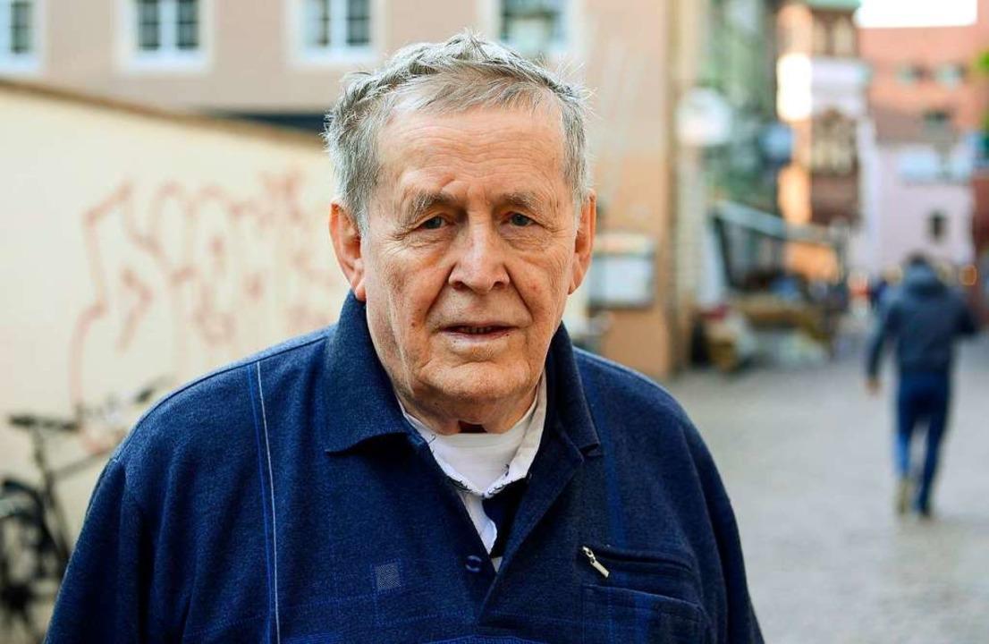 Lüdeking 2014 bei einem Besuch in Freiburg, wo er über sein Schicksal sprach    Foto: INgo Schneider