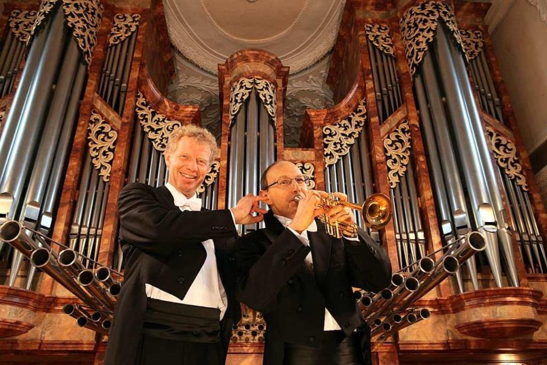 Paul Theis (links) und Bernhard Kratzer  | Foto: Veranstalter