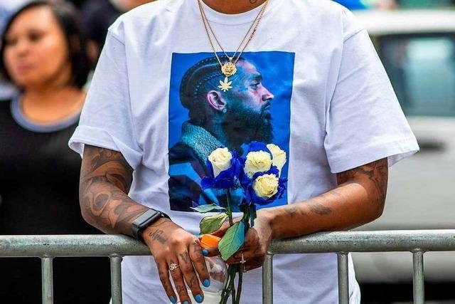 Tödliche Schüsse am Rande des Trauerzugs für Nipsey Hussle