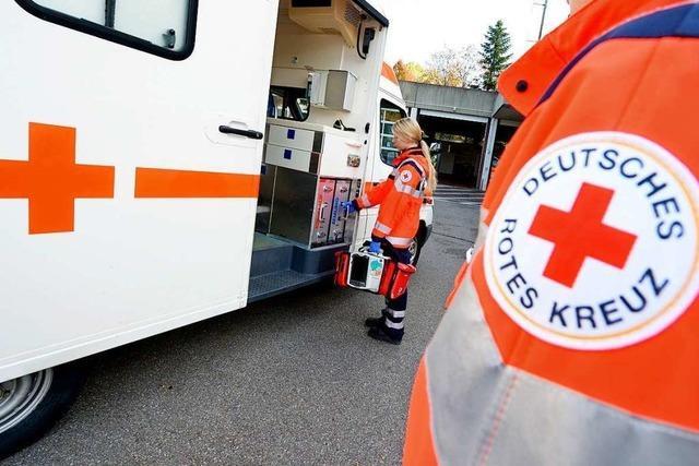 Christoph Greiner klagt über Mitgliederschwund beim Roten Kreuz Gundelfingen