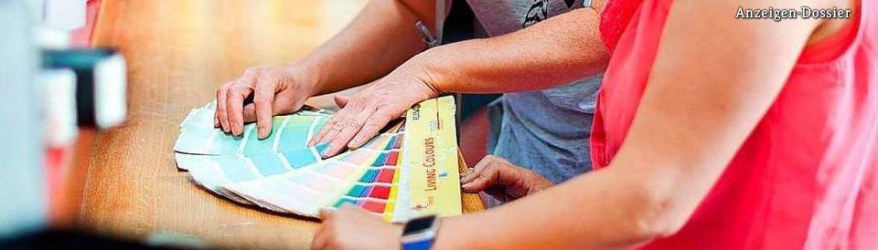 Das Fachgeschäft für Farben, Tapeten, Bodenbeläge und Zubehör