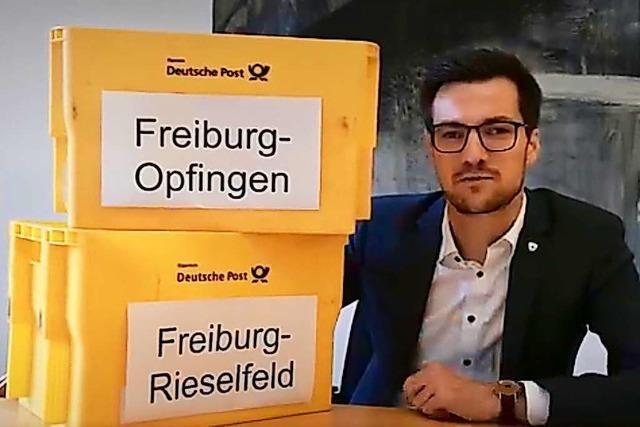 Video-Post für die Deutsche Post von OB Martin Horn