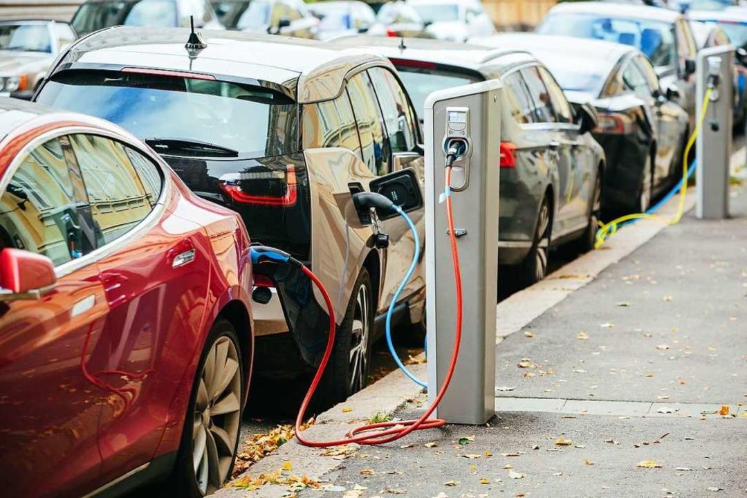Die Zahl der Elektroautos wächst.  | Foto: J&K (Stock.Adobe.com)