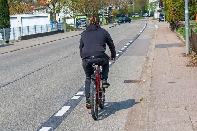 Ettenheim liegt beim Fahrradklima-Test unter dem Durchschnitt