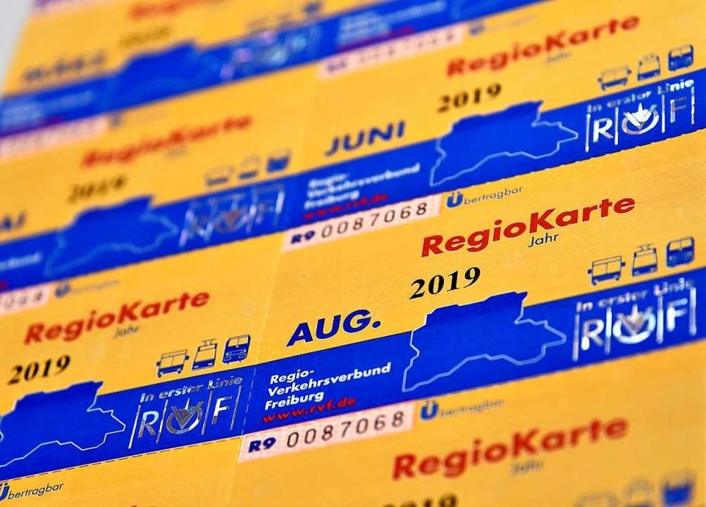Die Regiokarte wird im August teurer.  | Foto: Michael Bamberger