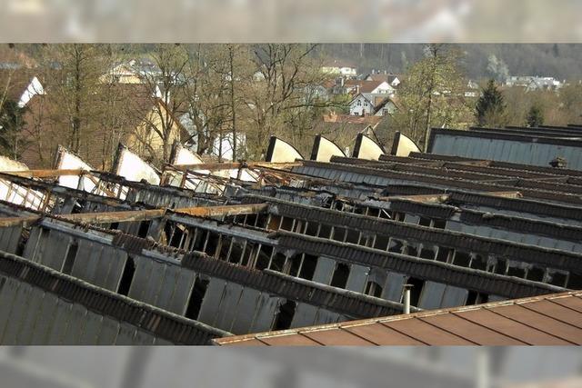 Wiederaufbau mit neuem Dach