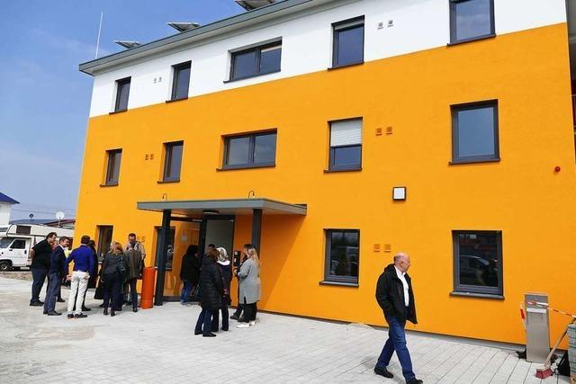 Neue Unterkunft für 138 Flüchtlinge in Bad Krozingen ist fertig