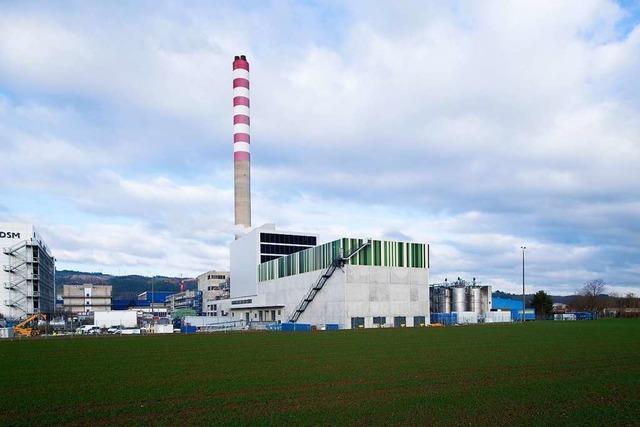 DSM produziert in Sisseln klimafreundlich – dank eines 60 Millionen Franken teuren Kraftwerks